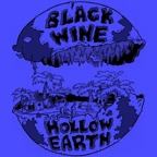 Cover BLACK WINE, hollow earth