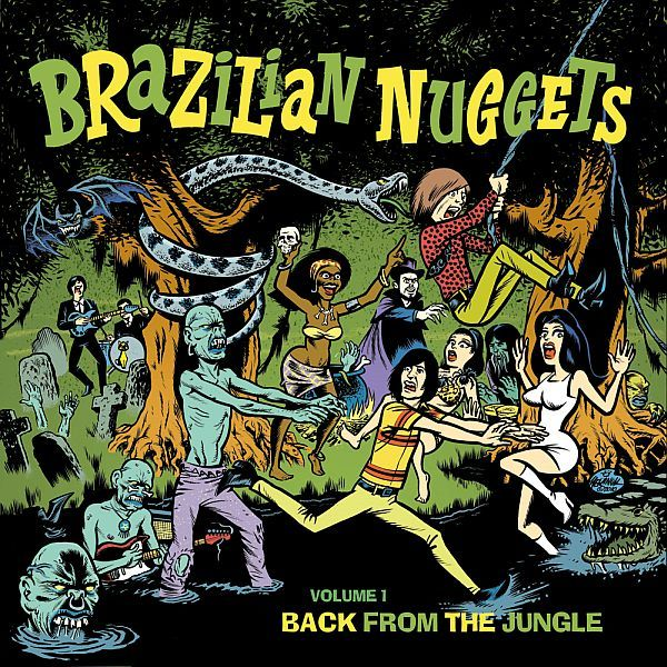 Cover V/A, brazilian nuggets - back from the jungle 1