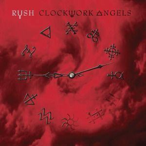 Cover RUSH, clockwork angels