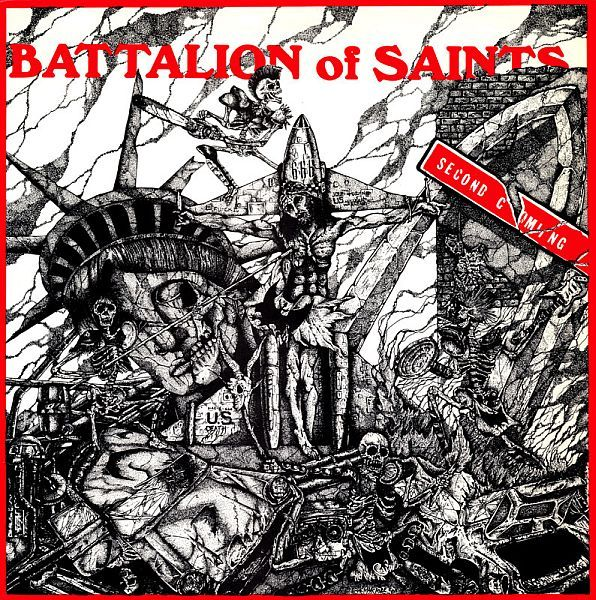 Cover BATTALION OF SAINTS, second coming