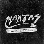 MANTAS, death by metal cover