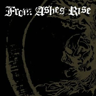 Cover FROM ASHES RISE, rejoice the end / rage of sanity