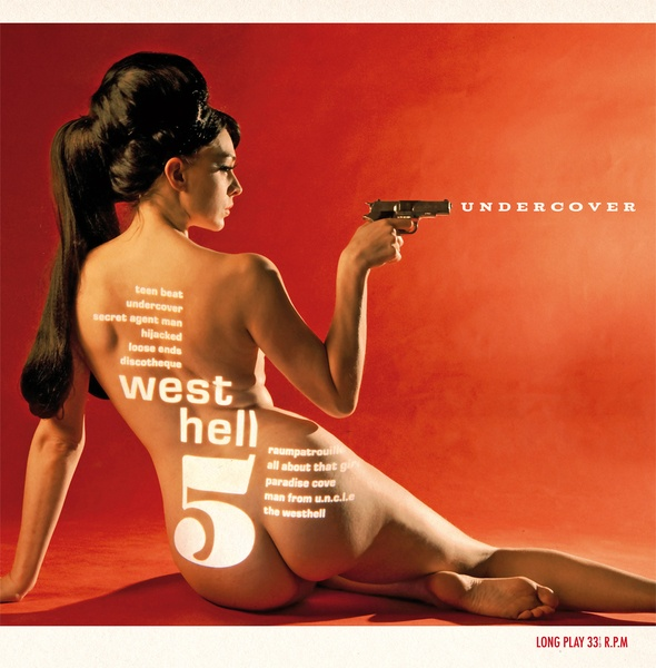 Cover WEST HELL 5, undercover