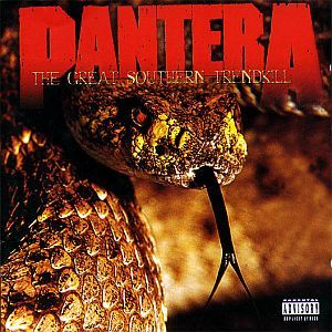Cover PANTERA, the great southern trendkill