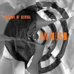 MISSION OF BURMA, unsound cover