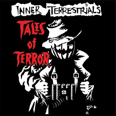 INNER TERRESTRIALS, tales of terror cover