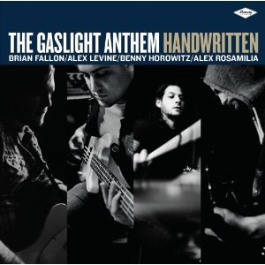Cover GASLIGHT ANTHEM, handwritten