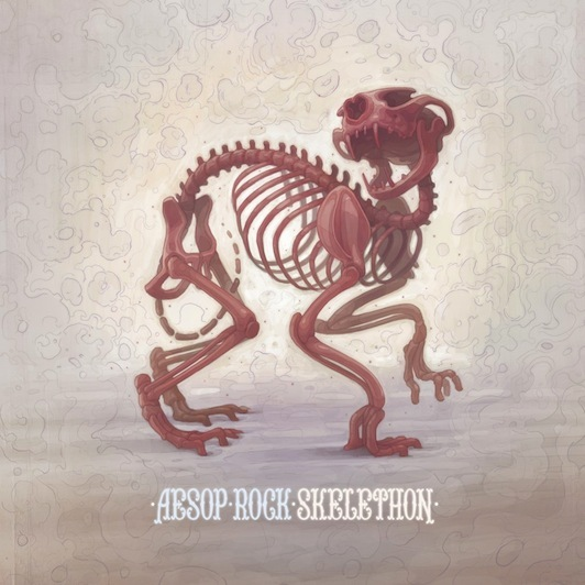 AESOP ROCK, skelethon cover