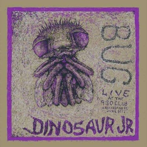 DINOSAUR JR., bug live cover