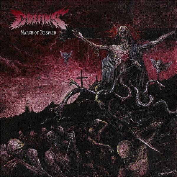 Cover COFFINS, march of despair