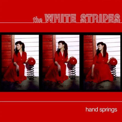 WHITE STRIPES, hand springs cover