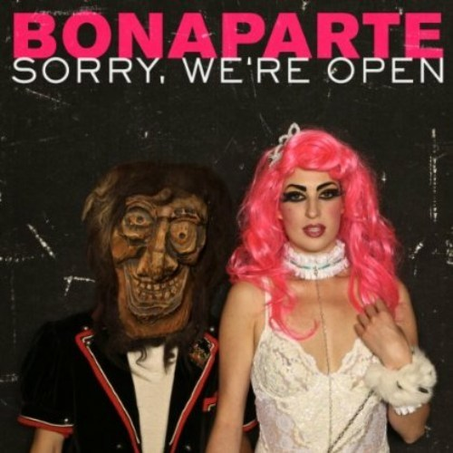 Cover BONAPARTE, sorry, we ´re open