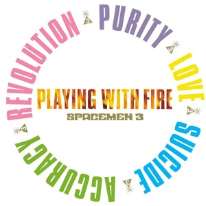 SPACEMEN 3, playing with fire cover