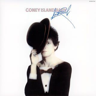 LOU REED, coney island baby cover
