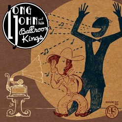 Cover LONG JOHN AND HIS BALLROOM KINGS, hep cat baby