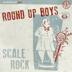 Cover ROUND UP BOYS, scale rock