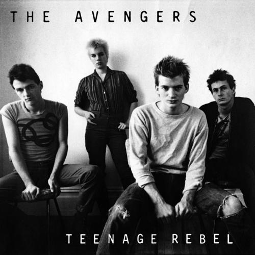 Cover AVENGERS, teenage rebel