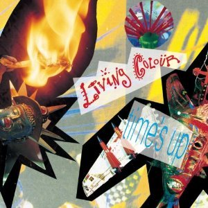 Cover LIVING COLOUR, time´s up