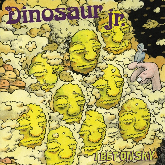 Cover DINOSAUR JR., i bet on sky