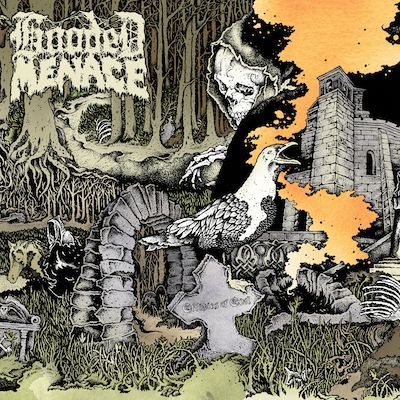 Cover HOODED MENACE, effigies of evil