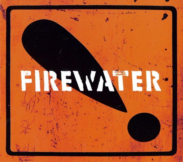 Cover FIREWATER, international orange!