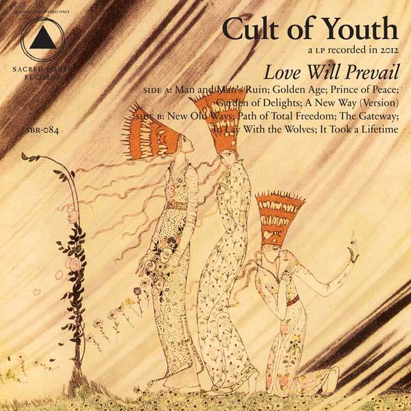 Cover CULT OF YOUTH, love will prevail