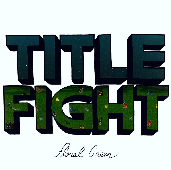 Cover TITLE FIGHT, floral green