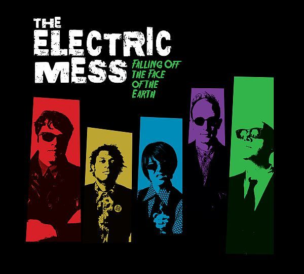 ELECTRIC MESS, falling off the face of the earth cover