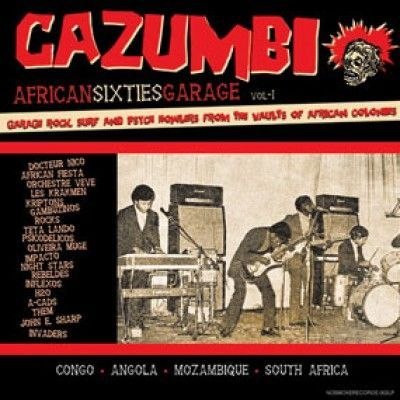V/A, cazumbi - african sixties garage cover