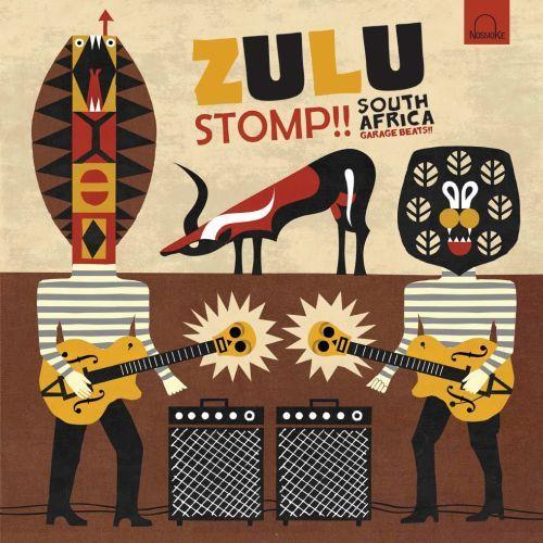 V/A, zulu stomp!! south africa garage beats cover