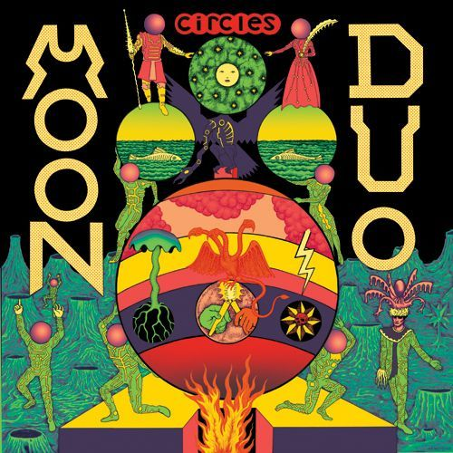 Cover MOON DUO, circles
