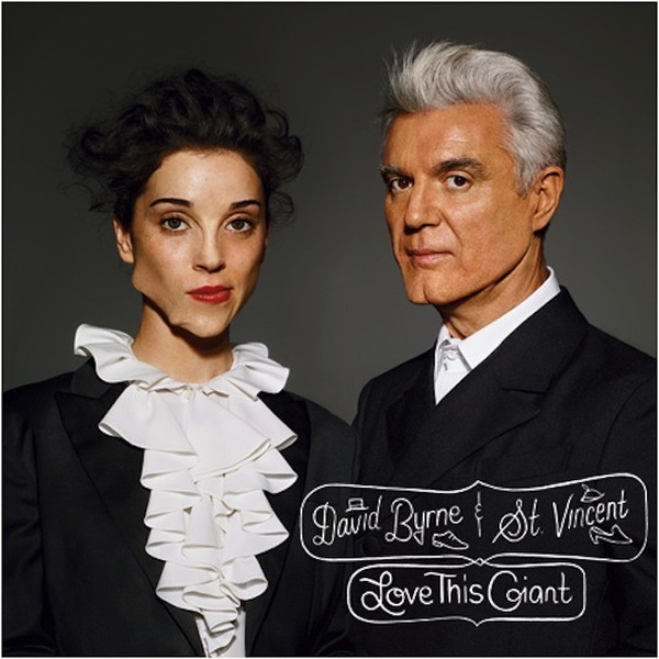 DAVID BYRNE & ST. VINCENT, love this giant cover