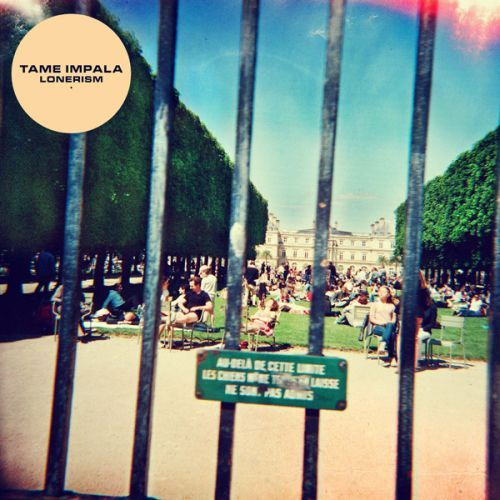 TAME IMPALA, lonerism cover