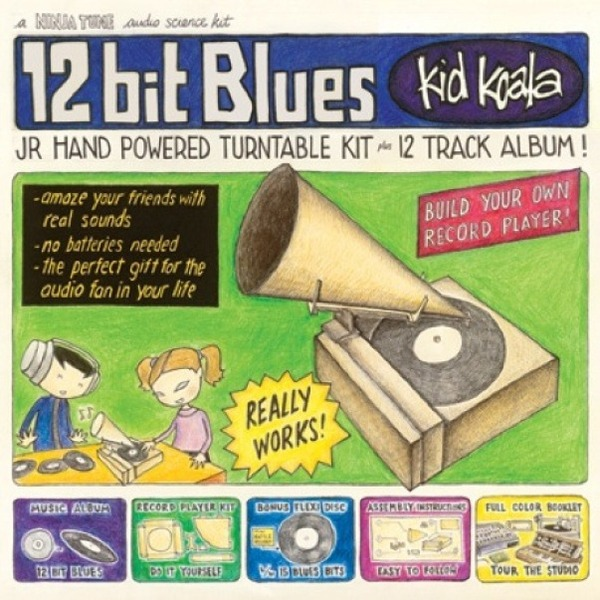 Cover KID KOALA, 12-bit blues