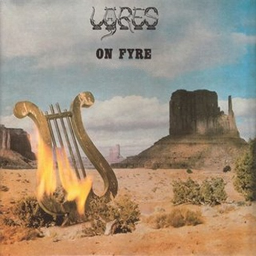LYRES, on fyre cover