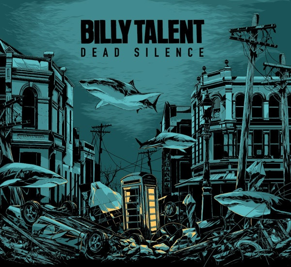 Cover BILLY TALENT, dead silence