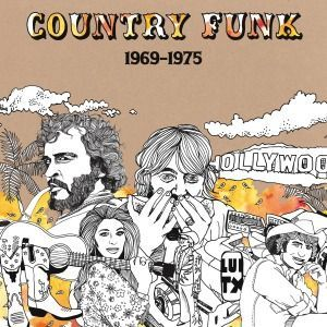 Cover V/A, country funk 1969-1975