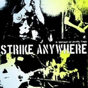 Cover STRIKE ANYWHERE, in defiance of empty times