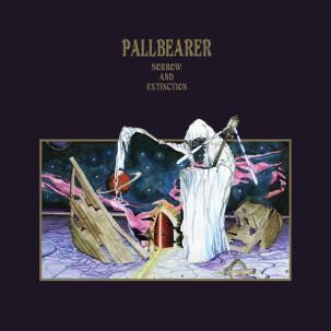 Cover PALLBEARER, sorrow and extinction