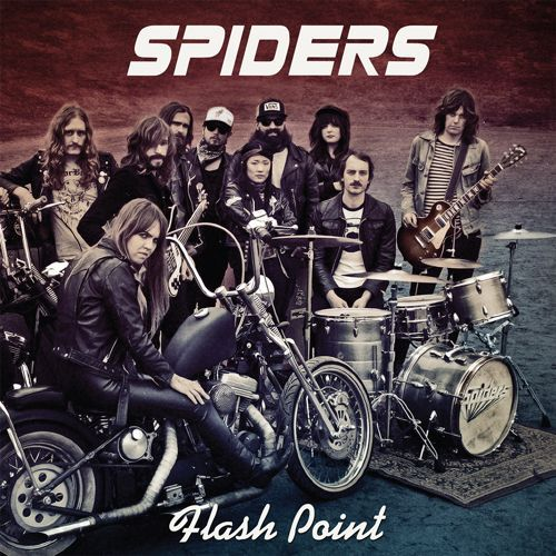 Cover SPIDERS, flash point