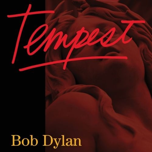 Cover BOB DYLAN, tempest