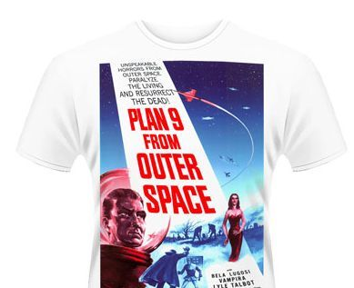 VINTAGE HORROR, plan 9 from outer space_white (poster) cover