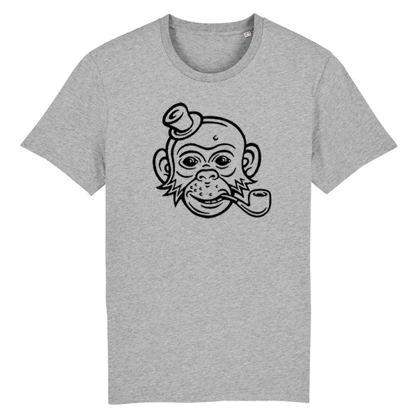 DIRK BONSMA, monkey (boy), heather grey cover