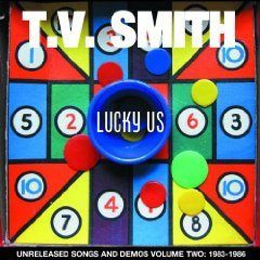 Cover TV SMITH, lucky us: unreleased songs vol. 2 1983-1986
