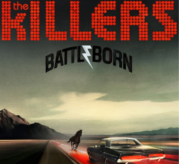 Cover KILLERS, battle born