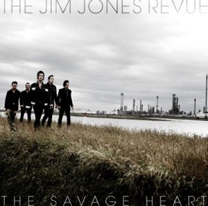 JIM JONES REVUE, savage heart cover