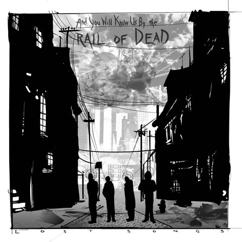 AND YOU WILL KNOW US BY THE TRAIL OF DEAD, lost songs cover