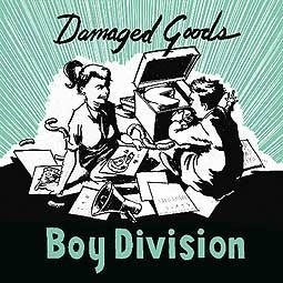 BOY DIVISION, damaged goods ep cover
