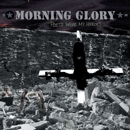 Cover MORNING GLORY, poets were my heroes