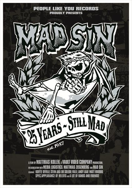 Cover MAD SIN, 25 years - still mad